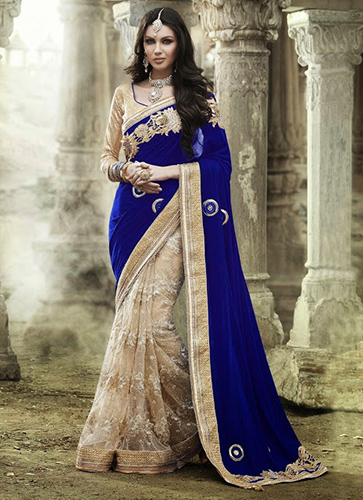 6 Latest Bollywood Half N Half Sarees