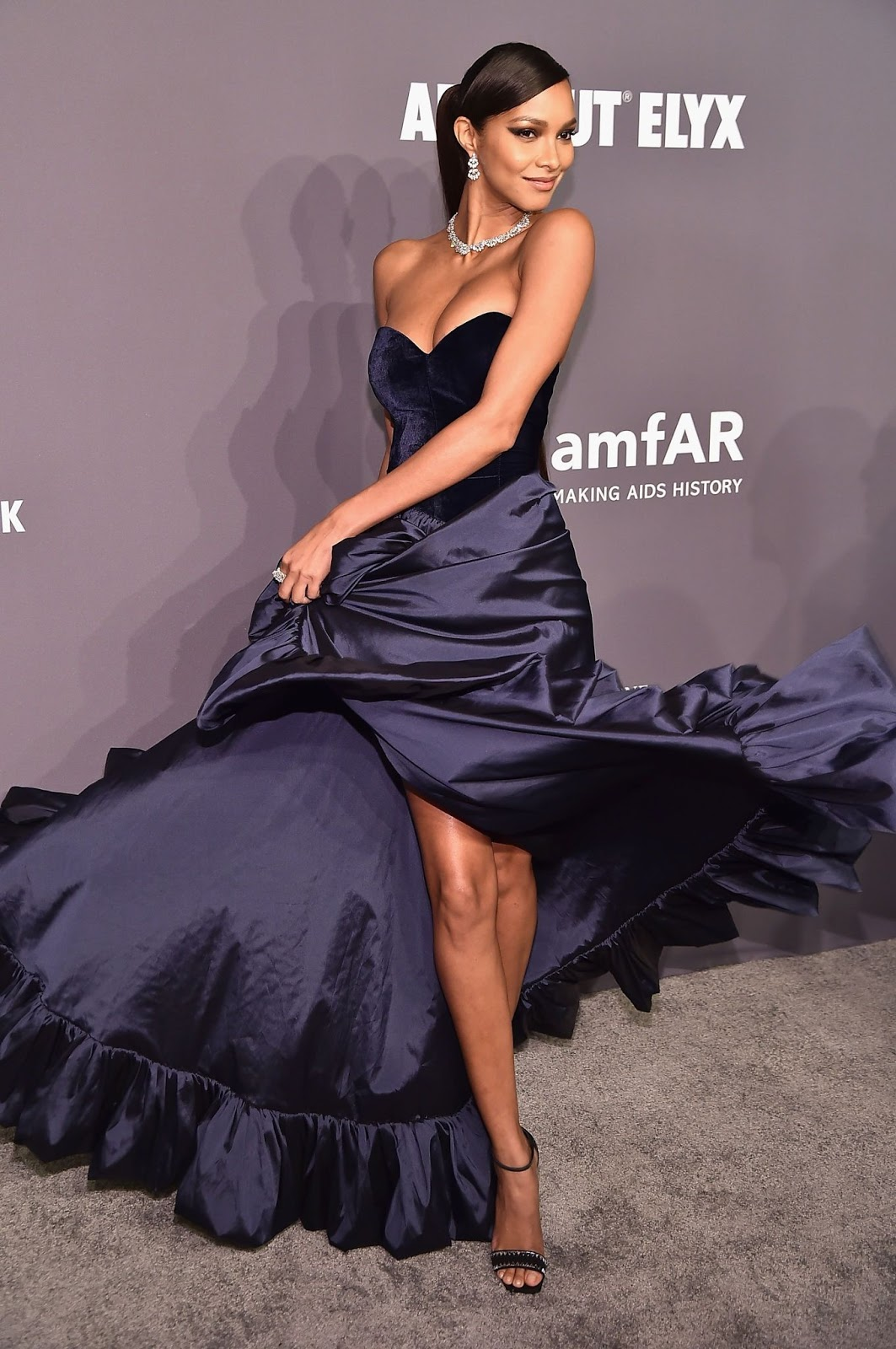 Lais Ribeiro - amfAR New York Gala in NYC - 02/06/2019