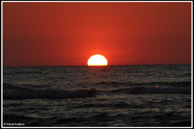 Sunset from Malgund Beach