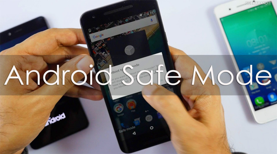 Safe Mode di HP Android