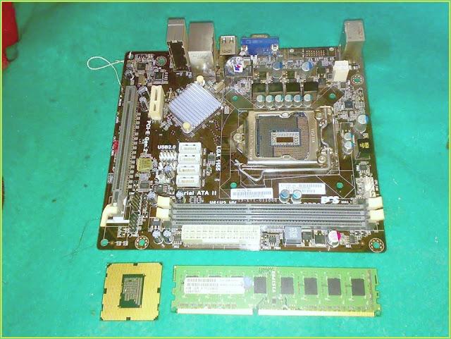 Belajar Merakit Komputer dengan Motherboard ECS H61H2-MV