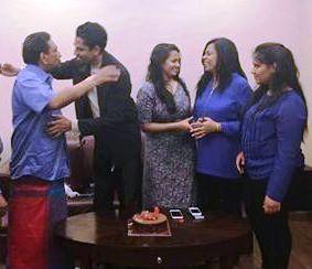 rajitha son birthday