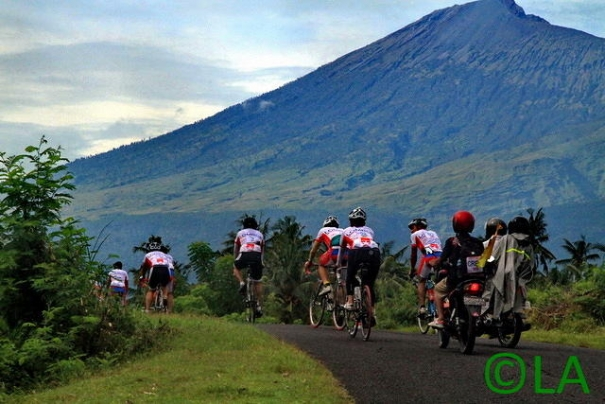 Cycling in Lombok
