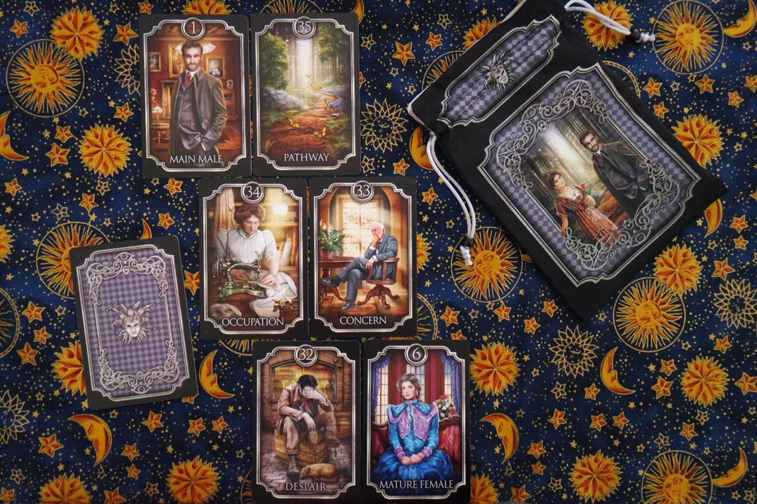 Samhain Moon FIN DE SIECLE KIPPER CARDS BY CIRO MARCHETTI