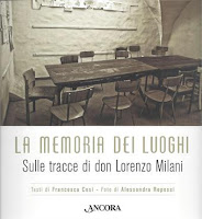 La memoria dei luoghi-Sulle tracce di don Lorenzo Milani-Francesca Cosi e Alessandra Repossi-copertina