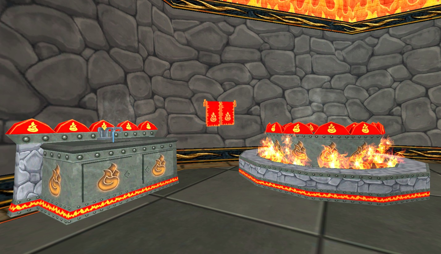 New School Furniture from Wizard101! - Stars of the Spiral