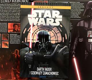 Star Wars Legendy. Darth Vader i dziewiąty zamachowiec