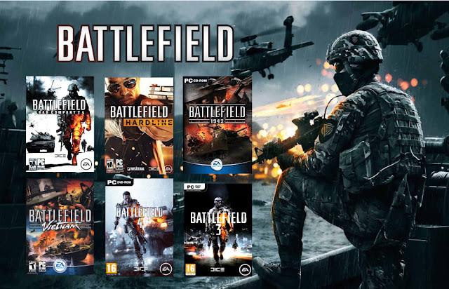 تحميل اصدارات لعبة Battlefield واحد