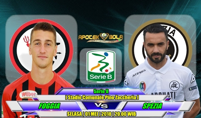 Prediksi Foggia vs Spezia 1 Mei 2018