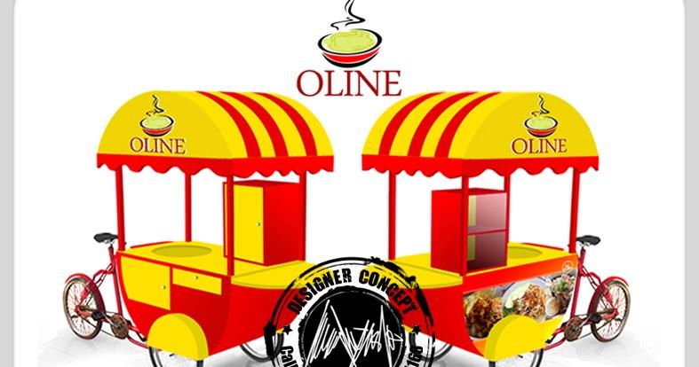 Desain Logo | Logo Kuliner | Desain Gerobak | Jasa Desain