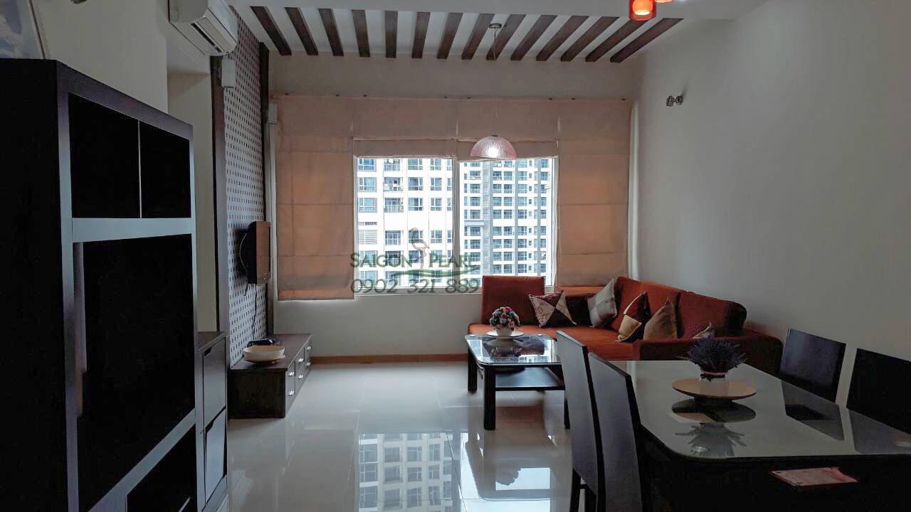 Saigon Pearl Ruby 2 cho thuê căn hộ 86m2 view công viên - hình 2