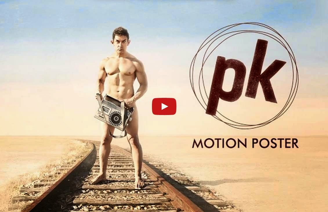 PK Film Poster Movie Trailer Songs - Aamir Khan