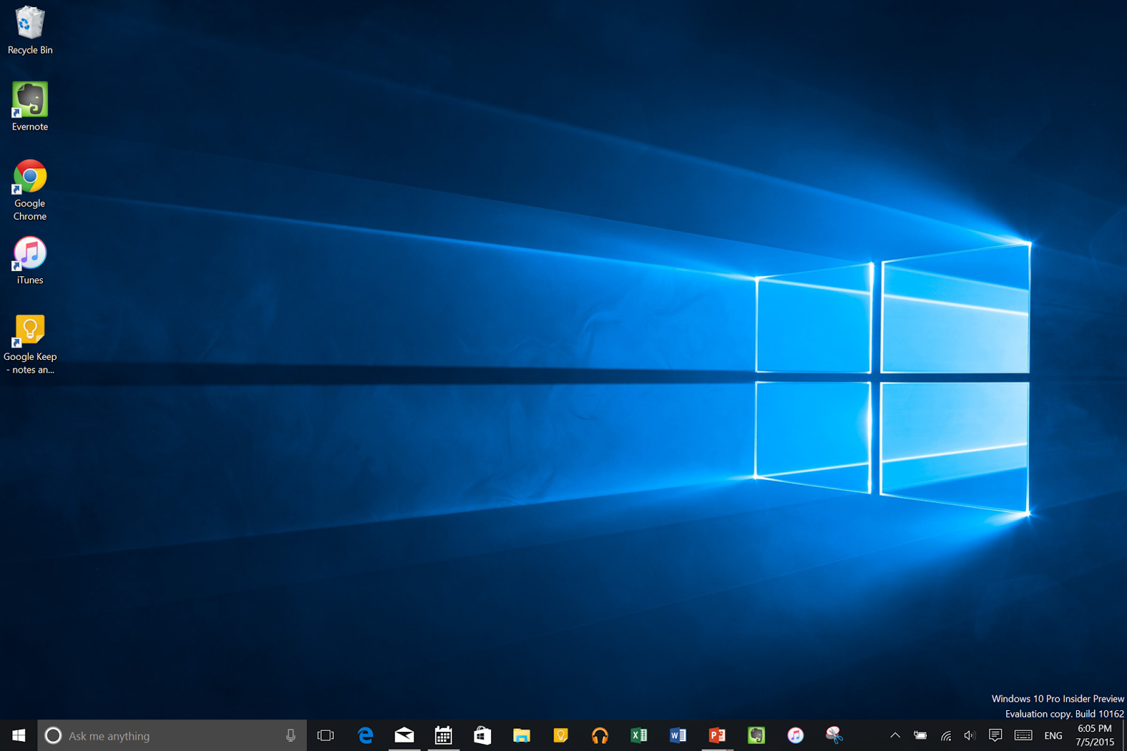 أول تحديث لنظام ويندوز 10