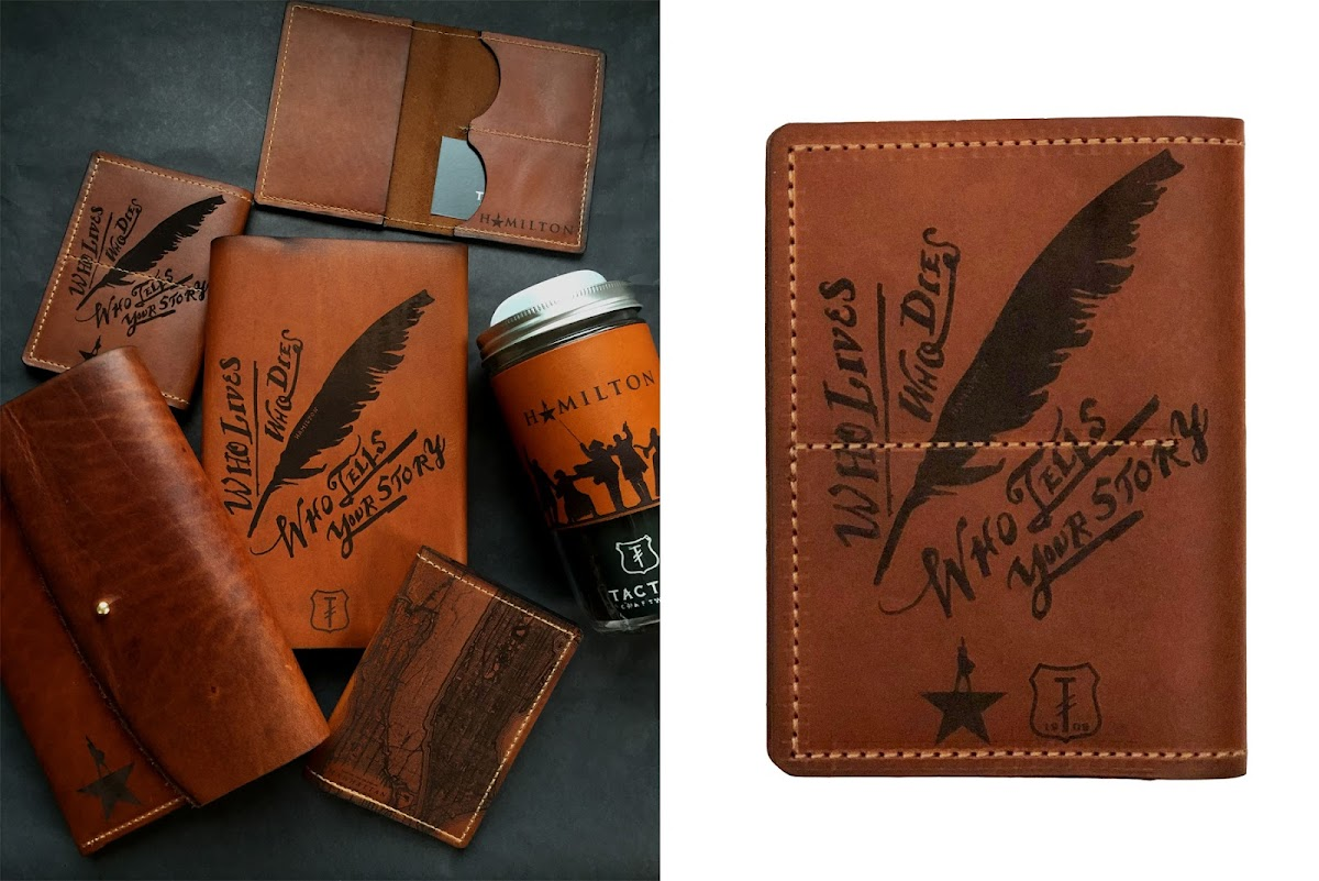 photos of the Hamilton wallets/billfolds