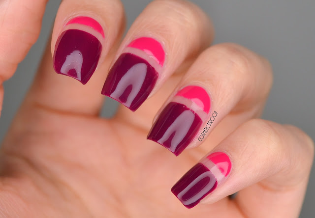 Joe Fresh Negative Space Nail Art