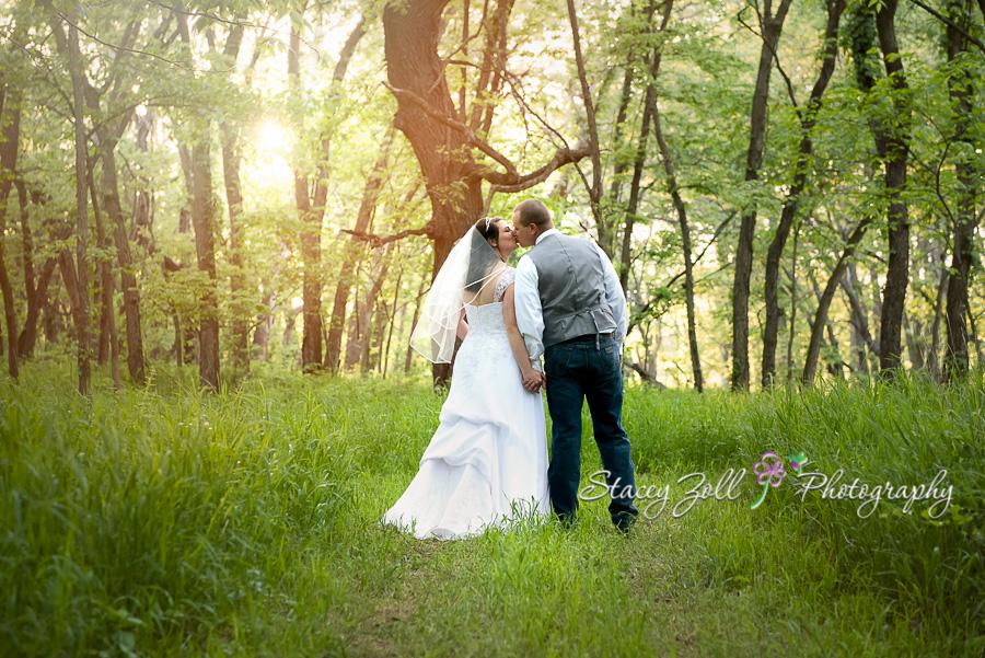 Stacey Zoll Photography: A Fun, Outdoor Wedding in Alma, Kansas ...