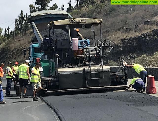Obras Públicas inicia el asfaltado de un nuevo tramo de la LP-2
