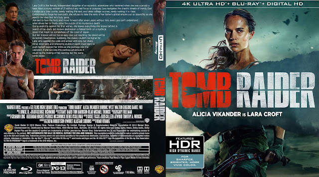 Tomb Raider 4k Bluray Cover