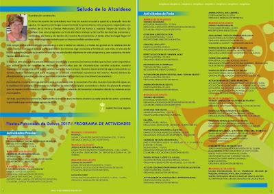 PROGRAMACIÓN OFICIAL DE LAS FIESTAS PATRONALES DE GELVES 2017