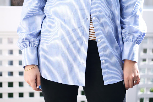 Zara, stripe shirt, womens fashion, trend, fashion blogger