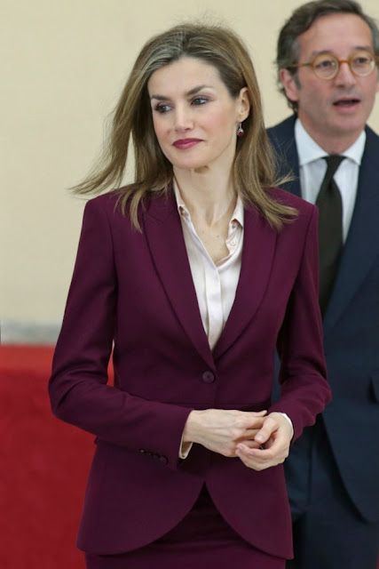 Spanish Royals attends the ceremony of Fine Arts Golden Medals