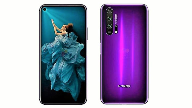 Honor 20 Pro and Honor 20 phones