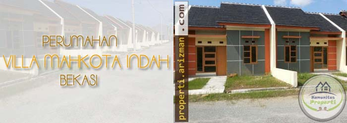 Dijual Perumahan Villa Mahkota Indah Bekasi