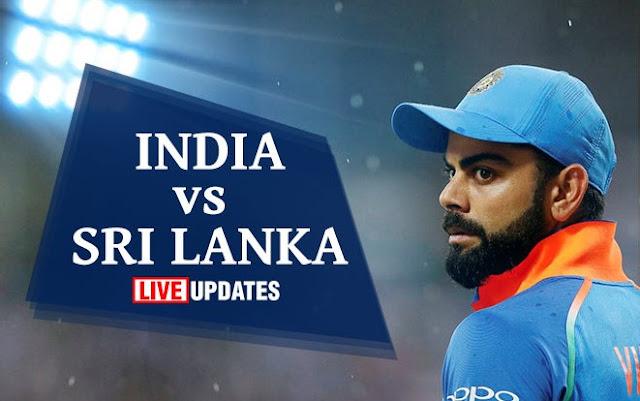 India vs Sri Lanka, Live streaming,Live score