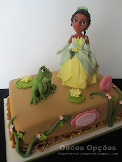 disney  The Frog Princess cake