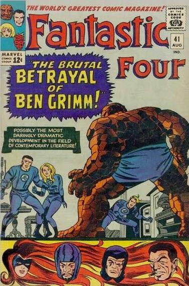 Fantastic Four 41-BrutalBetrayalBenGrimm