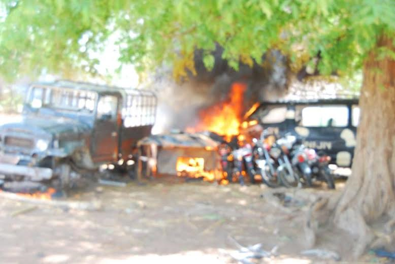 8 Photos: Troops clear Boko Haram camp in Sambisa Forest, rescue 41 hostages