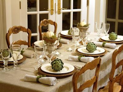 Gambar Dekorasi Meja Makan Saat Natal