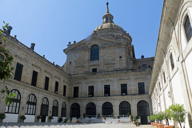 Real Monasterio de San Lorenzo de El Escorial, Madrid