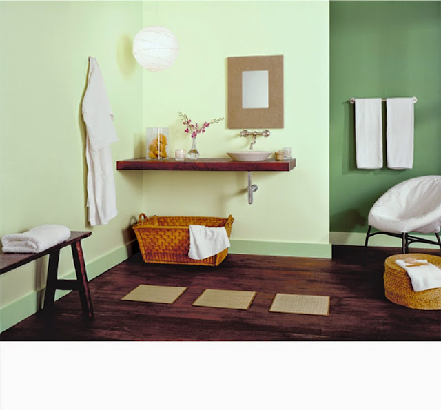 Ruangan Minimalis Modern Warna Chromatic
