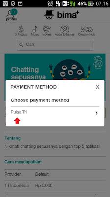 solusi paket chatting 3 hilang
