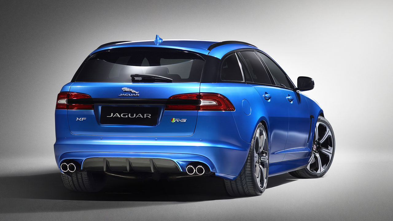 Jaguar XFR-S Sportbrake rear side