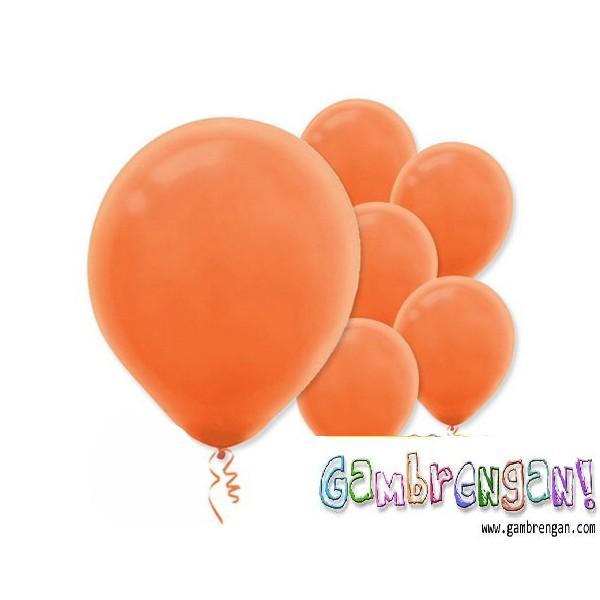Balon dekorasi Oranye