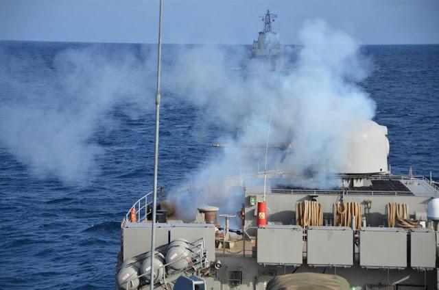 """""""ΑΙΓΙΑΛΟΣ 2018"""": Επιχειρησιακή εκπαίδευση μονάδων του Πολεμικού Ναυτικού σε Παγασητικό και Αιγαίο"""