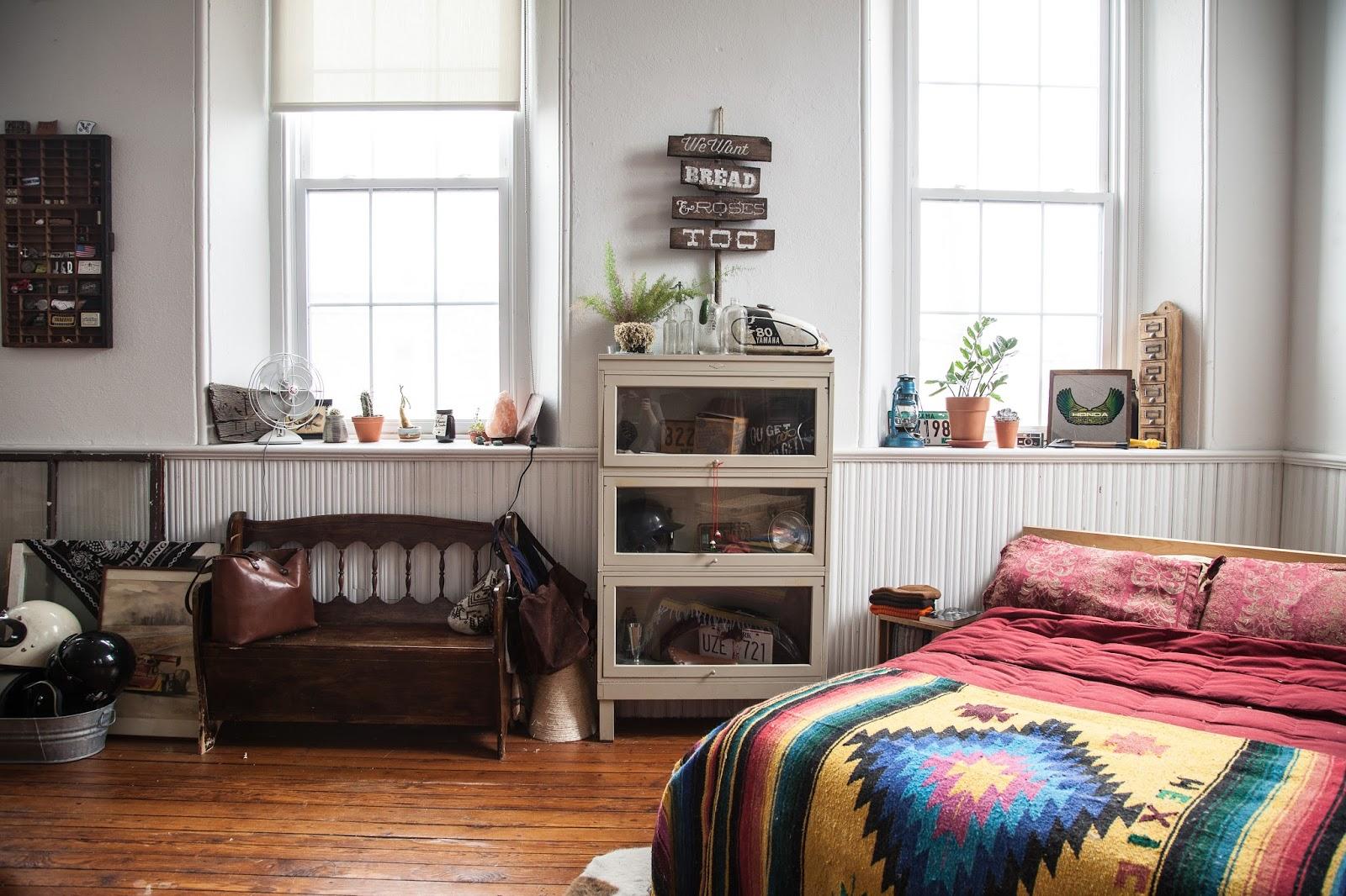 Fishtown Studio with Vintage Furniture