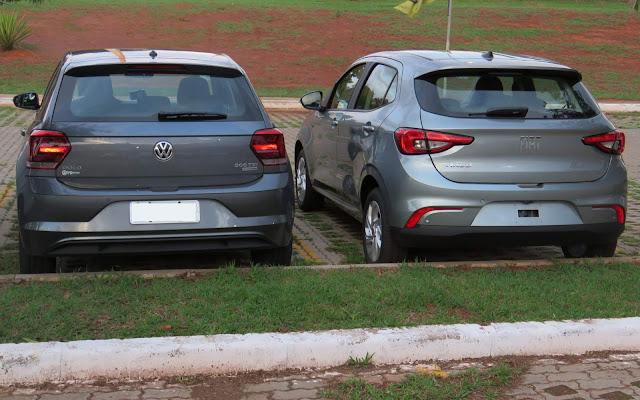 VW Polo x Fiat Argo