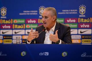 Tite diz que Seleção que foi à Rússia será base para a Copa América