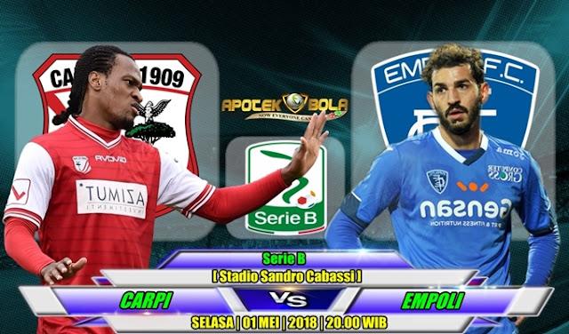 Prediksi Carpi vs Empoli 1 Mei 2018