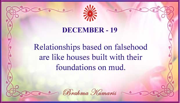 Thought For The Day December 19