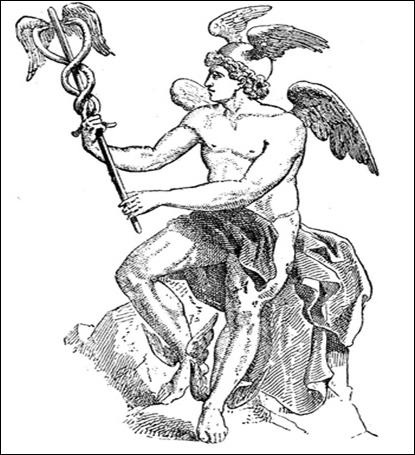 La Mitologia Greca Nellarte Presentiamo Hermes Il Messaggero Degli Dei
