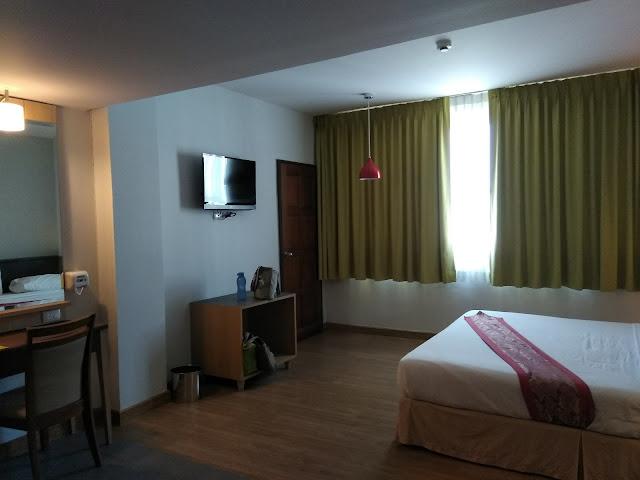 aloha hotel, family room, bilik hotel luas, bilik keluarga