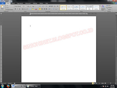 mengganti tampilan ms office, ganti warna background, ms word, ms excel, ms power point, 2010, 2007