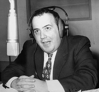 Maurizio Costanza pictured early in his broadcasting career, as host of a 1972 radio show, Buon Pomeriggio