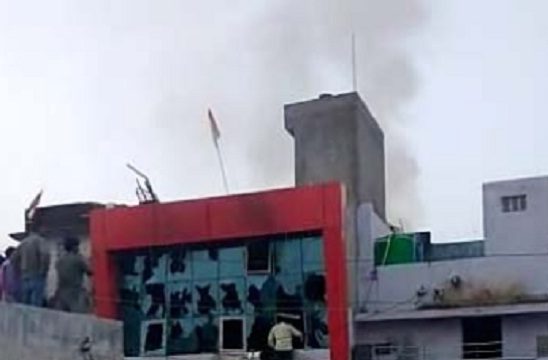 Kota, Nenwan, Rajasthan, Fire, Incident, Fire in a house