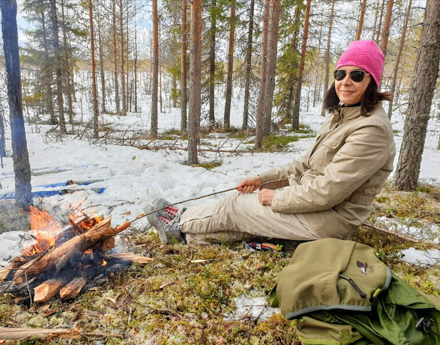 Experience Finnish nature in the  forest
