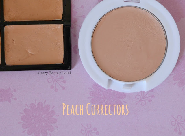 Different type of affordable peach color correctors in India